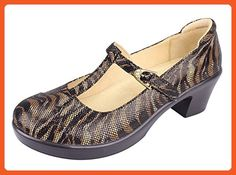 Alegria Women's Coco Safari Mary Jane 41 (US Women's 10.5) Regular - Pumps for women (*Amazon Partner-Link)