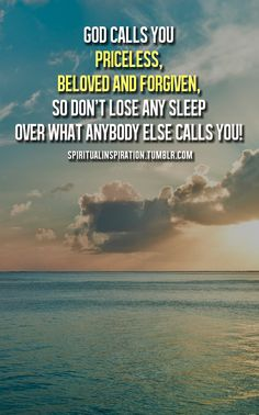 God calls you...