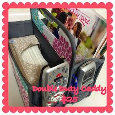 This is the new Double Duty Caddy! (Item 4787) SO many ways to use this great organization item!  www.mythirtyone.ca/sfisher