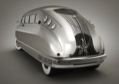 Stout Scarab 1935 /  World's first production minivan / Stout Motor Car Company of Detroit, Michigan