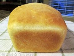 Pennies & Pancakes: Grandma's Country White Bread ($0.39 per loaf)