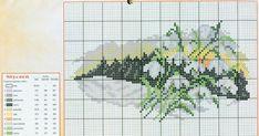 blog depre viata la tara, natura, sananate si familie Cross Stitch Designs, Cross Stitch Patterns, Cross Stitch Landscape, Le Point, Needlework, Diy And Crafts, Alphabet, Projects To Try, Embroidery