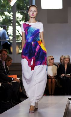 Jil Sander; fashion designers are artists.