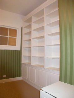build bookshelves   Built-In Bookshelves and cabinets : Please click on a photo to enlarge