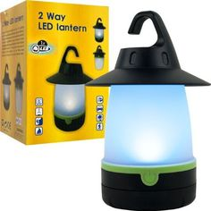 Happy CamperT 2 Way LED Lantern - Lighting Outdoor by AWM. $20.99. Hang the versatile 2 Way LED Lantern or place it on a table top with the adjustable hanging hook you can hang from either side. One Super BrightT LED will illuminate your porch, patio, yard or camping area while you enjoy the great outdoors. Get the best of both worlds with Happy CamperT 2 Way LED Lantern.Features include:1 Super Bright LEDAdjustable Hanging HookProvides Hours of IlluminationON/OFF SwitchRequires...