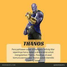 Para pahlawan super di Avengers: Infinity War sepertinya harus bekerja ekstra keras untuk mengalahkan Thanos. Pasalnya dia sudah punya dua Infinity Stones. Baca selengkapnya di androbuntu.com