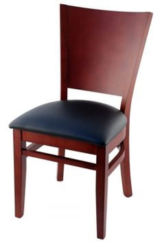 Premium Curved Back Wood Chair - Made in the USA