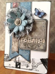 Madame Payraud card made for German shopping channel