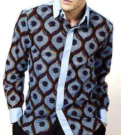 IYAYAH African Print Fashionable LongSleeve DressMen by IYAYAH, $85.00