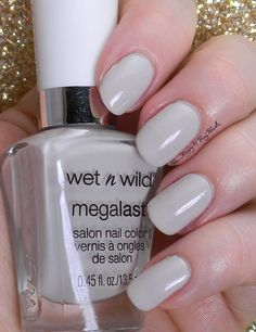 Wet N Wild A Latte Love | Be Happy And Buy Polish http://behappyandbuypolish.com/2015/03/27/wet-n-wild-silver-lake-nail-polish-collection-swatch-review/