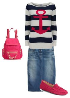 Untitled #38 by holinesschick on Polyvore featuring polyvore, fashion, style, Vero Moda, J.Crew, Tod's, Juicy Couture and clothing