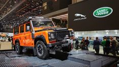 Land Rover Says Goodbye to the Defender in Geneva With 3 Special Edition Models - Live Photos