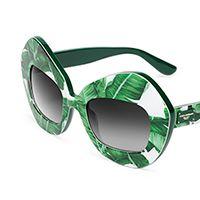 Women's oversize sunglasses Botanical Garden dg4290