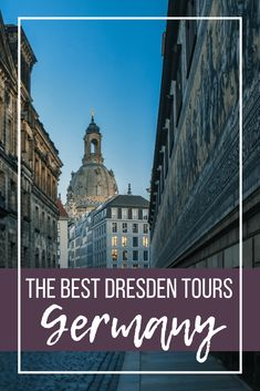 The Best & Worst Dresden Tours. Here's an overview of my personal experiences on different Dresden tours, with recommendations for which were the best and which one was so bad you need to avoid it! Europe Travel Guide, Backpacking Europe, Travel Guides, Travel Destinations, European Destination, European Travel, Switzerland Vacation, Germany And Italy, Central Europe