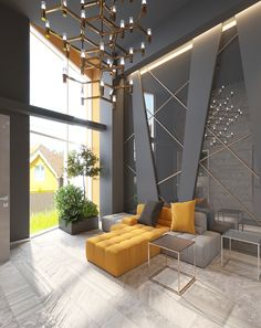 Modern Living Room Ideas With Grey Coloring To Inspire You You are in the right place ab. Best Living Room Design, Home Room Design, Living Room Modern, Interior Design Living Room, Living Room Designs, Modern Contemporary Living Room, Contemporary Apartment, Interior Livingroom, Lobby Interior
