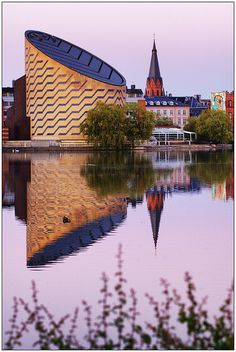 Tycho Brahe Planetarium reflections at Dusk - Copenhagen (Denmark) (HDR) by Jaafar Mestari, via Flickr