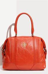 Tory Burch Orange Leather Hobo - #UT game day bag next year? Please, Michael ☺️