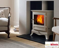 The Beaumont 8kw Stove is shown in an ivory paint finish that complements its refined appearance. With its elegant and refined appearance, the Beaumont is a stove that will look at home in the most sophisticated of interiors (Heat Output Range 6 – 10.5kw). The Beaumont is available as a six or eight kilowatt multi-fuel stove and a four or five kilowatt wood burning stove.