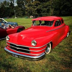 vintage red Chrysler car..Re-Pin brought to you by #Insuranceagents at #houseofInsurance in #Eugene