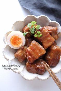 ほろほろ崩れる柔らかさ!ほったらかしでめちゃ旨*豚バラスライスの角煮(オススメです) | たっきーママ オフィシャルブログ「たっきーママ@Happy Kitchen」Powered by Ameba