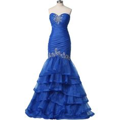 Sunvary Sexy Mermaid Organza Rhinestone Prom Dress for Evening Pageant Dress Long ($150).  I am in love with this gown!!!!  And I actually have this amount to spend right now!!!!!!!!!!!!!!!!!!!!!!!!!!!Yay