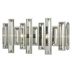 ELK Lighting 330 Crystal 2 Light Bathroom Vanity Light - 33000/2