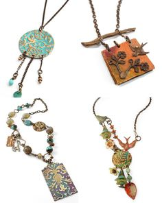 Love My Art Jewelry: Options for Coloring Metal