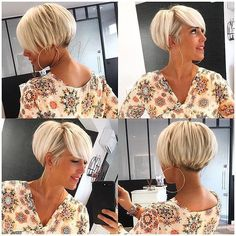 Trending Hairstyles, Pixie Hairstyles, Pixie Haircut, Daily Hairstyles, Short Bob Haircuts, Modern Haircuts, Short Hair Cuts For Women, Short Hairstyles For Women, Short Pixie