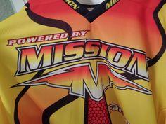 VINTAGE MISSION FACTORY TEAM SPONSORED ROLLER HOCKEY JERSEY PROJOY SIZE 58 #Mission #Jerseys