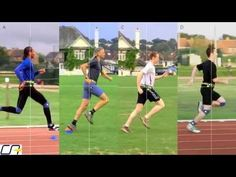 We use ultra-slow motion to slow the action down 128 times, and compare how sprinters and distance runners plant their feet in detail. The video shows the im. Runners Legs, Stunt Woman, Run Cycle, Animation Reference, Stunts, Live Action, Martial Arts, Videos, Drawing