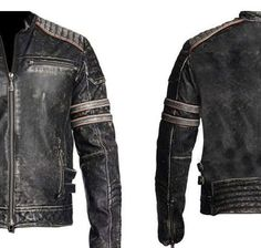 69e235a6440 Arrow Mens Vintage Leather Jacket Distressed Brown Motorcycle Leather Jacket  – yiuyiyad – Arrow Shopping