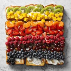 Angel Food French Toast Frozen Desserts, Summer Desserts, No Bake Desserts, Breakfast Time, Breakfast Recipes, Lime Pie Recipe, Refreshing Desserts, Pudding Desserts, Big Meals