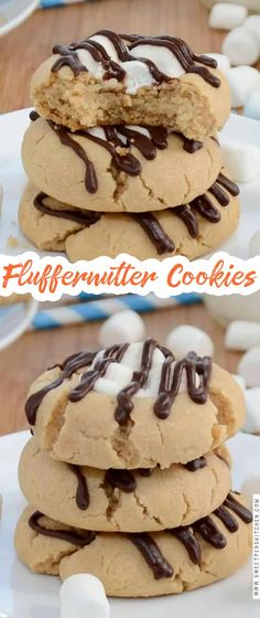 Delicious Cookie Recipes, Yummy Treats, Baking Recipes, Sweet Treats, Yummy Food, Cookie Desserts, No Bake Desserts, Just Desserts, Dessert Recipes