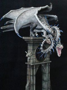 Dragonstooth Miniatures » Blog Archive » Keeper of Time Dragon