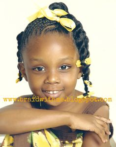 Ponytails Young Girls Hairstyles, Ethnic Hairstyles, Natural Hairstyles For Kids, Kids Braided Hairstyles, Girly Hairstyles, Natural Hair Styles, Toddler Hairstyles, School Hairstyles, Hairstyle Ideas