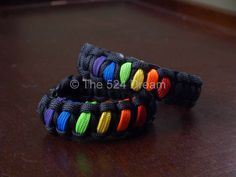 DOUBLE RAINBOW Pride Bracelet by The524Dream on Etsy, $8.50