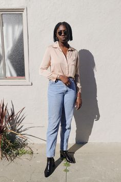 Simple linen basics that will redefine the essentials in your wardrobe to become your new uniform. These nursing friendly classic women's pieces are sustainably made in Los Angeles. Ethical Fashion, Breastfeeding, Mom Jeans, Pregnancy, Silk, Long Sleeve, Pants, Shopping, Collection