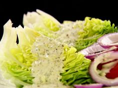 Buttermilk Ranch Dressing with Bibb Lettuce... I'll probably have to double this recipe...