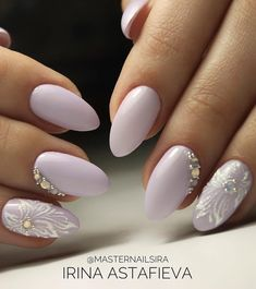 Uñas Color Cafe, Perfect Nails, Fabulous Nails, Gorgeous Nails, Manicure Ideas, Nails Only, Elegant Bridal Nails, Flower Nail Art, Stylish Nails