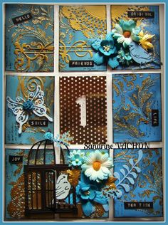 Création de Sandrine VACHON (pocket letter)