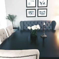 #Repost @by_gilly   Iom at stua vår ikke er så stor  har jeg lenge vært på utkikk etter ett kvadratisk spisebord for å ramme inn stua best mulig. Liker at man får kontakt med alle rundt bordet og ble så fornøyd når jeg fant dette fra @classicliving  #london2 #classicliving  __________________________________
