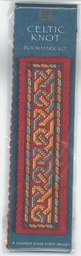 Textile Heritage Cross Stitch Kit Celtic Knot Bookmark New in Sealed Package