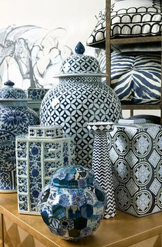 Brabourne Farm: Love .... Temple and Ginger Jars