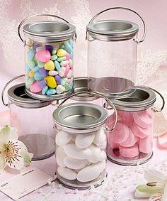 Miniature Paint Can/Jar Wedding Favours (Pack 6) £11.99