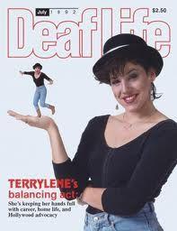 Look who :) Asl Sign Language, British Sign Language, Deaf Actress, Deaf Art, Deaf People, Asl Signs, Deaf Culture, Former President, Journalism