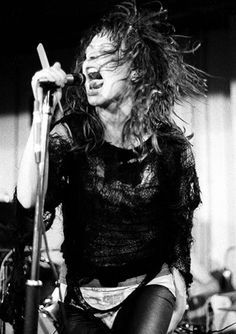 Iconic photo of Ari Up performing live with The Slits, shot...