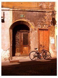 Door and bike - Eslovenia