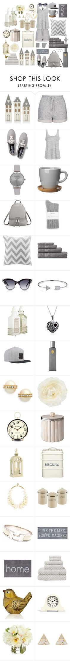 """""""Untitled #162"""" by julie-andrews ❤ liked on Polyvore featuring interior, interiors, interior design, home, home decor, interior decorating, Topshop, Keds, Project Social T and Olivia Burton"""