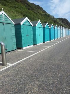 Panatone beach huts in Bournemouth, loved staying down here for Abbie's wedding!