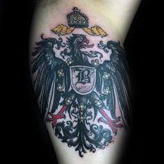 3e667c31f4b 50 German Eagle Tattoo Designs For Men - Germany Ink Ideas